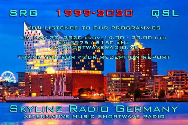 eQSL от Skyline Radio Germany